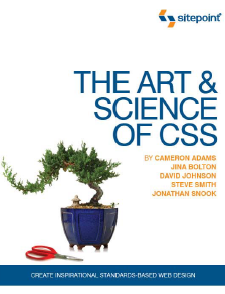 [web开发CSS系列].The.Art.and.Science.of.CSS